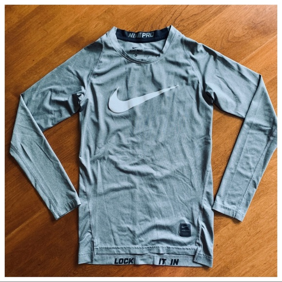 35611272 Nike Shirts & Tops | Euc Pro Boys Drifit Compression Shirt Sz Xl ...